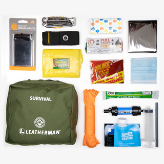 LEATHERMAN X TONQUIN TRADING SURVIVAL KIT