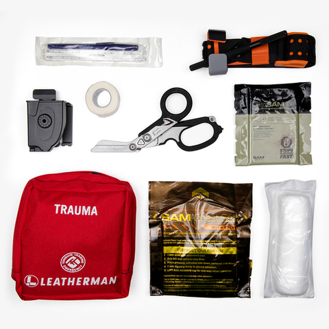 LEATHERMAN X TONQUIN TRADING TRAUMA KIT