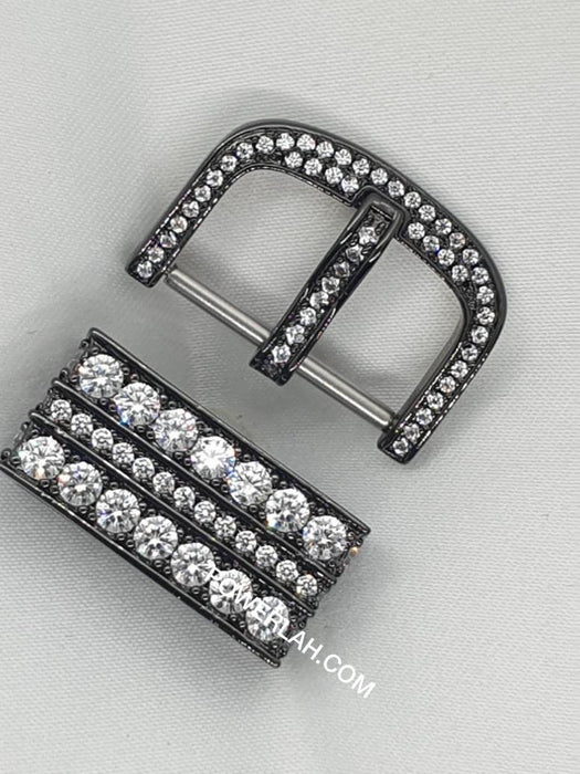 Keeper and Buckle (B casing with W Crystal)