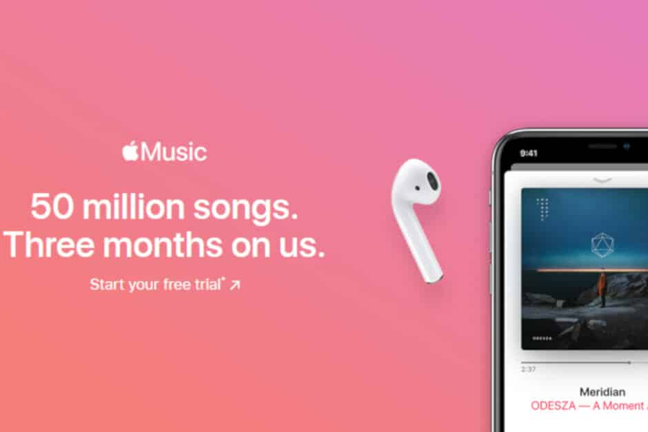Streaming music service as the largest source of income