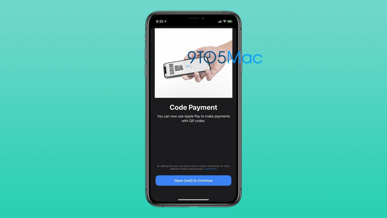 Does iOS 14 Apple Pay support QR Code payment?