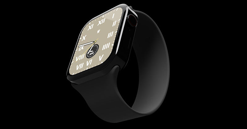 No longer sleek? Internet push Apple Watch flat edge design concept map