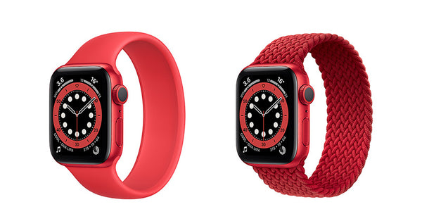 Apple Watch Red Braided Solo Loop is now available