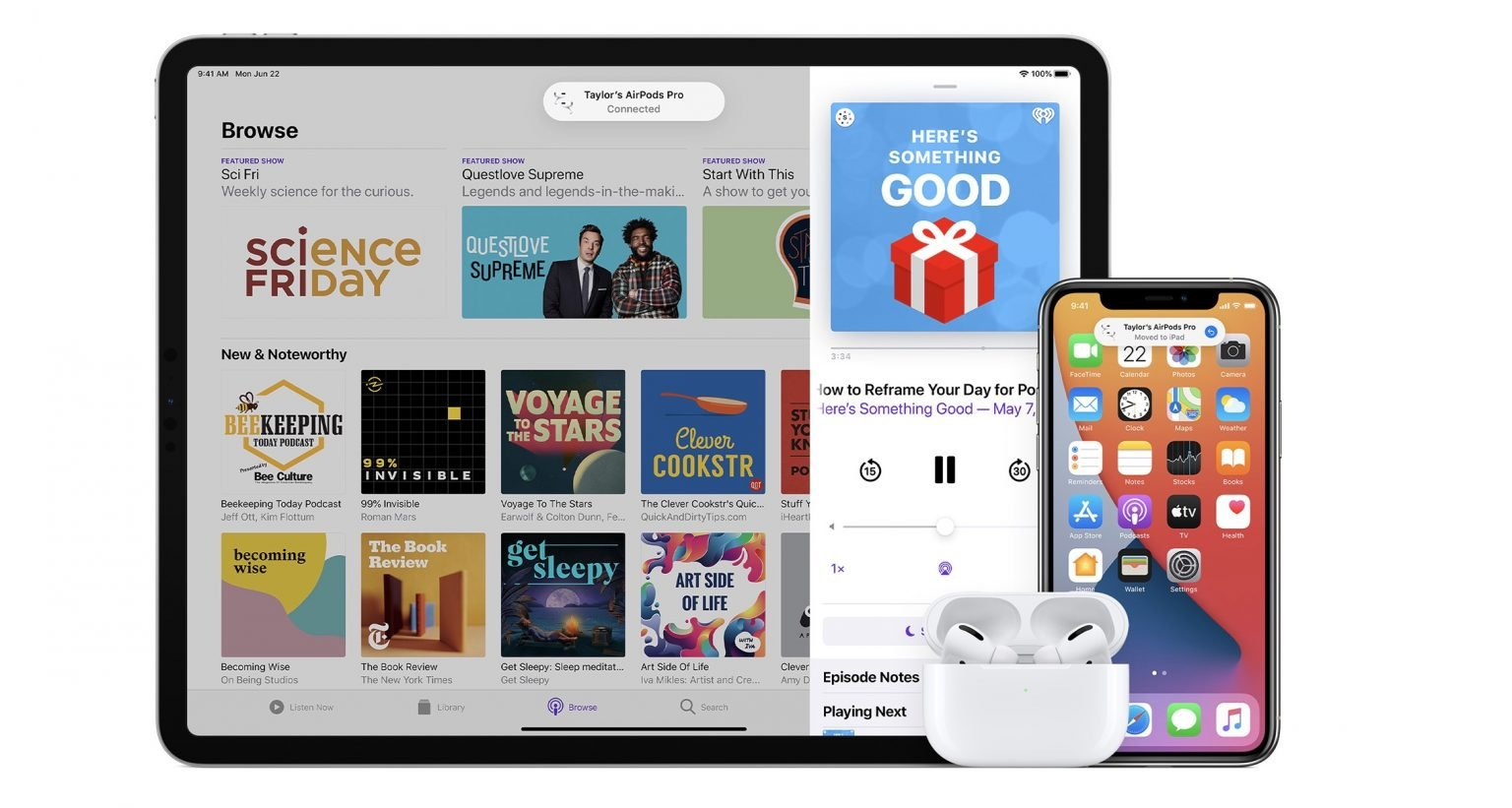 iOS 14 makes AirPods smarter and automatically switch devices