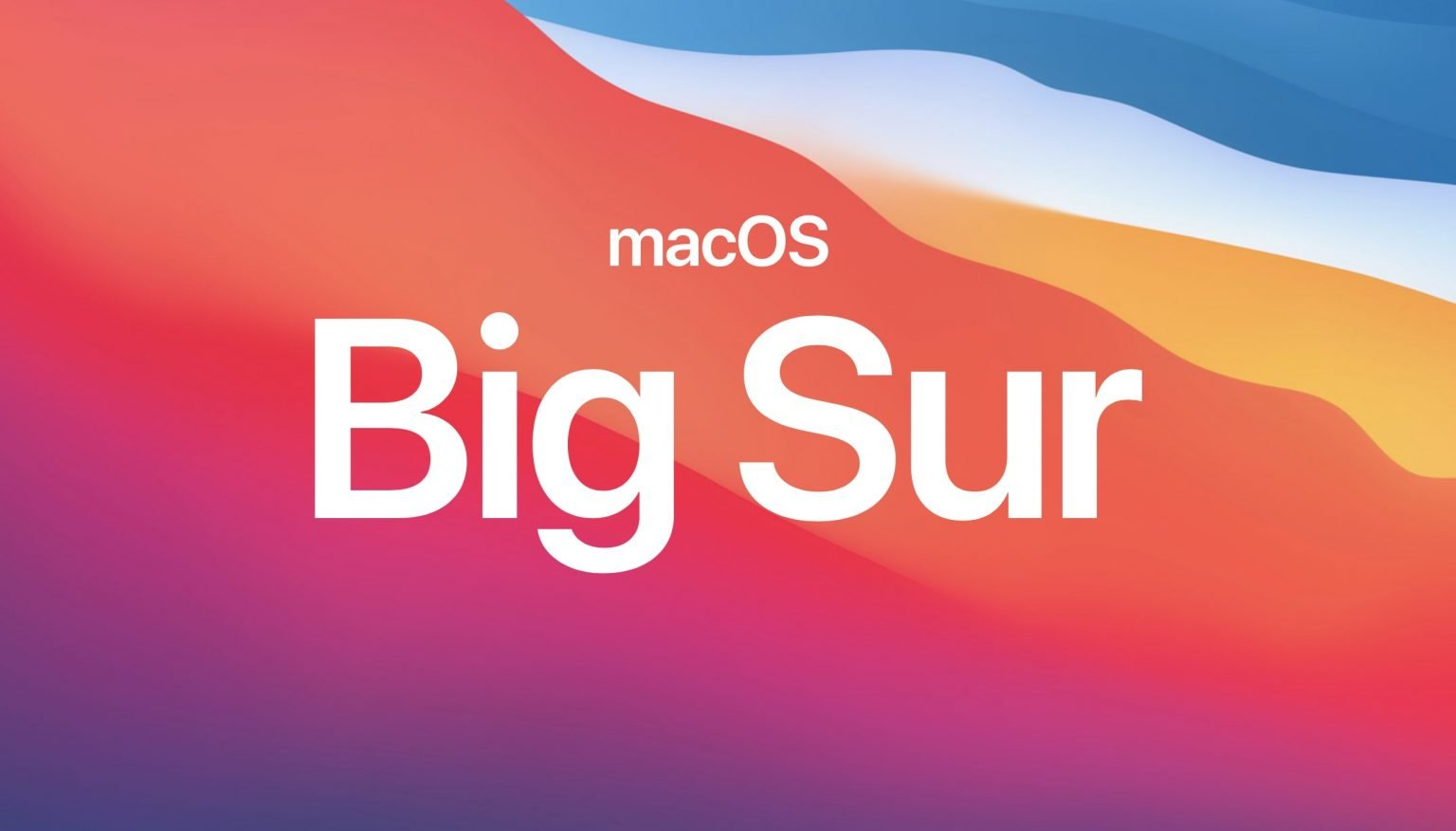 The new generation of macOS Big Sur debut