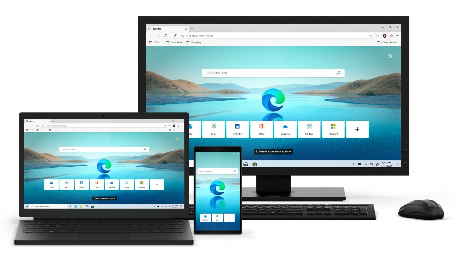 Introducing Microsoft Edge supporting Chromium kernel for iOS / macOS / Android