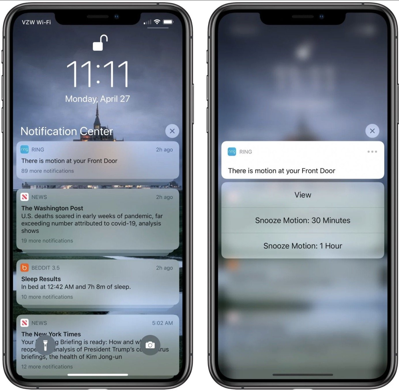 iPhone SE uses Haptic Touch weakened version. Some iPhone 11 / XR functions cannot be achieved