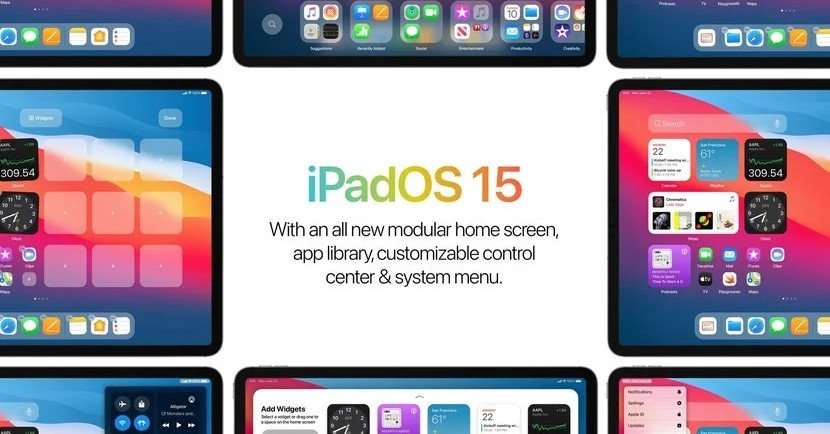 Share the concept map of iPadOS 15 online, this is the iPadOS 14 I want