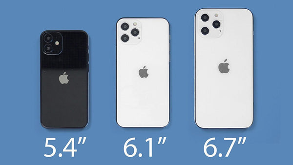 It is rumored that the 5.4-inch iPhone will be named iPhone 12 mini