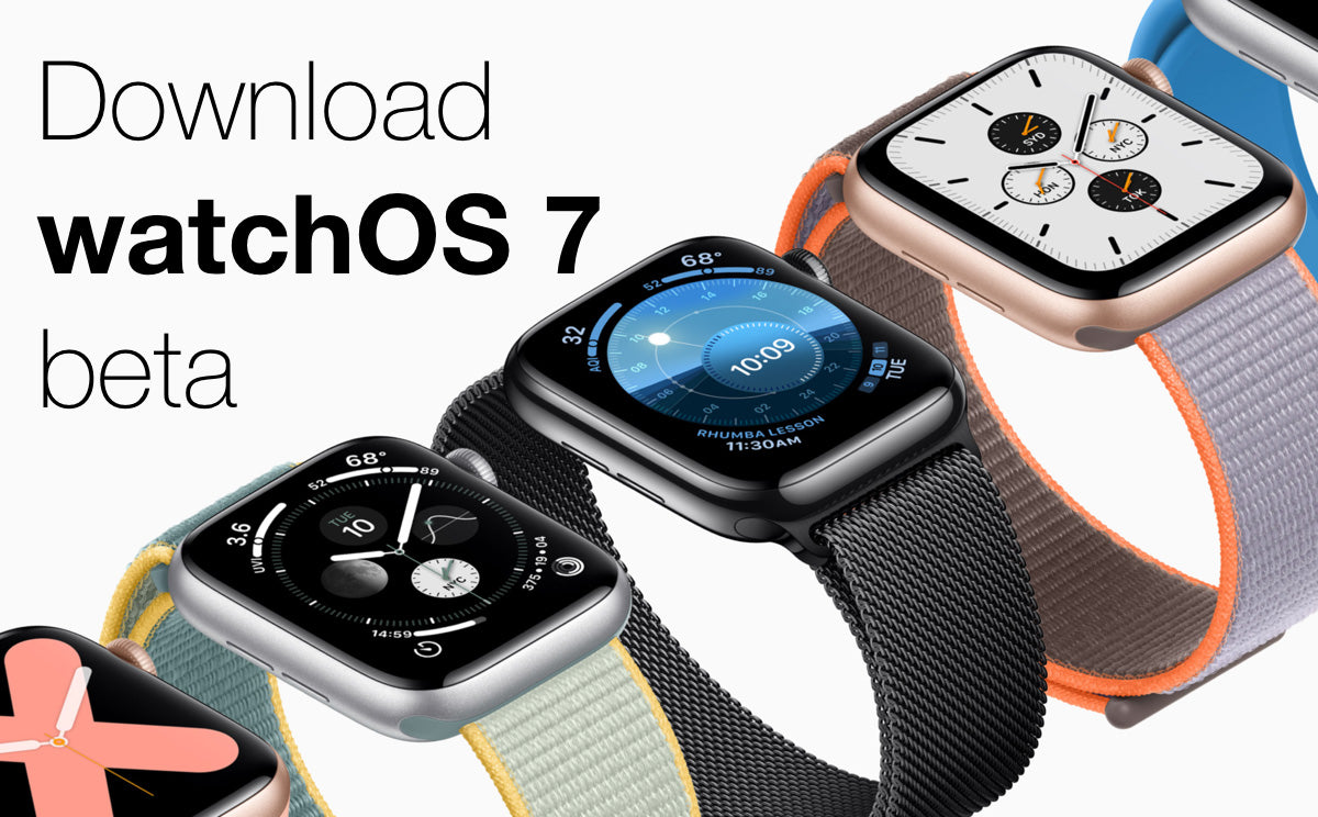 watchOS 7 Public Beta 6 free download