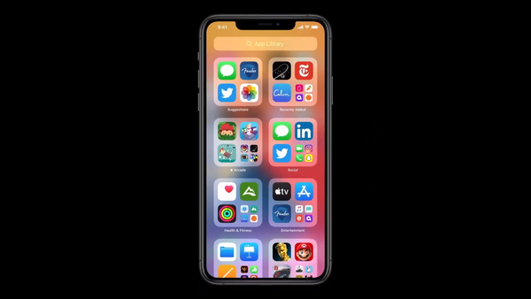ios 14 applibrary