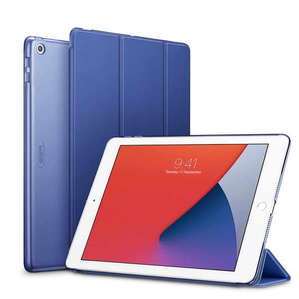 iPad 8th Generation Case 2020 10.2 inch Blue Smart Cover-CoolDesignOnline