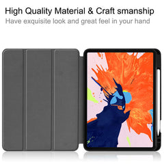 iPad Pro Case 2020 12.9 inch 4th Generation With Pencil Holder Leather Cover IPTPU15-CoolDesignOnline