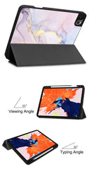 iPad Pro Case 2020 12.9 inch 4th Generation With Pencil Holder Leather Cover IPTPU08-CoolDesignOnline