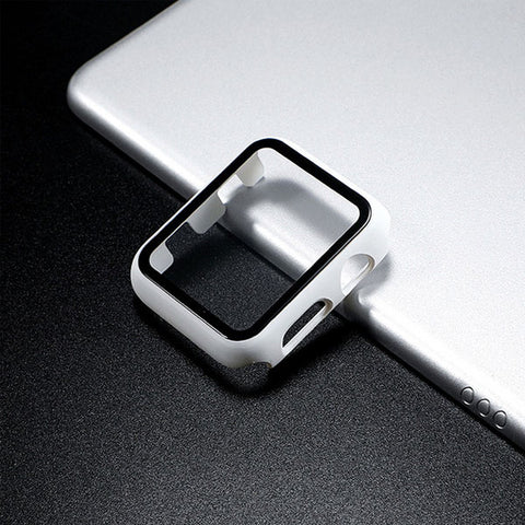 Apple Watch Case Series 3 38mm White With Screen Protector-CoolDesignOnline
