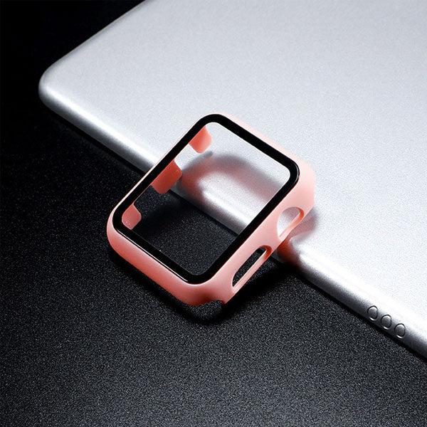 Apple Watch Case Series 3 38mm Pink With Screen Protector-CoolDesignOnline
