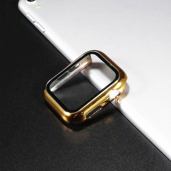 Apple Watch Case Series 5 44mm Gold With Screen Protector-CoolDesignOnline