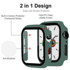 Apple Watch Case Series 3 38mm Matte Transparent With Screen Protector-CoolDesignOnline