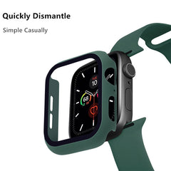 Apple Watch Case Series 5 40mm Purple Carbon With Screen Protector-CoolDesignOnline