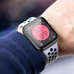 Apple Watch Case Series 5 44mm Rose Red With Screen Protector-CoolDesignOnline