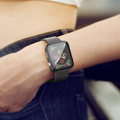 Apple Watch Case Series 5 44mm Transparent Carbon With Screen Protector-CoolDesignOnline