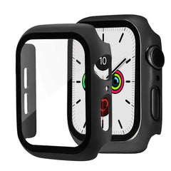 Apple Watch Case Series 5 44mm Red With Screen Protector-CoolDesignOnline