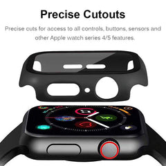 Apple Watch Case Series 5 44mm Purple Carbon With Screen Protector-CoolDesignOnline