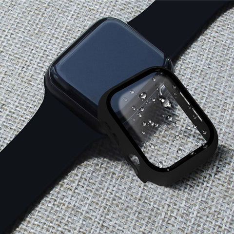 Apple Watch Case Series 3 38mm Black With Screen Protector-CoolDesignOnline