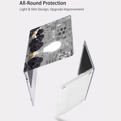 MacBook Air Case 13 inch 2018 Touch ID MacBook Cover MB14-CoolDesignOnline
