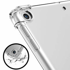 iPad 10.2 Case 2019 7th Generation Clear Drop Resistance Silicon Cover-CoolDesignOnline