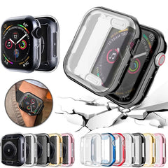 Apple Watch Case Series 4 44mm Protective Screen Protector Silver-CoolDesignOnline