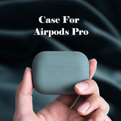 AirPods Pro Case Silicone AirPods Cover Black-CoolDesignOnline