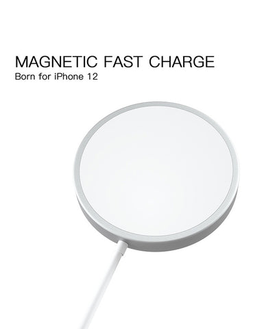 Apple MagSafe Charger 15W Fast Magnetic Wireless Charger For iPhone 12-CoolDesignOnline