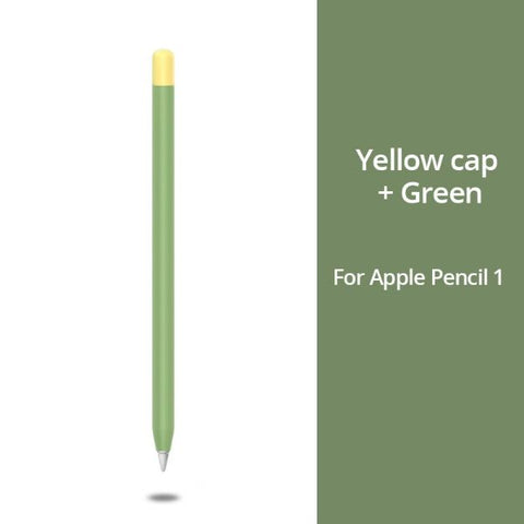 Apple Pencil 1 Case Green Apple Pencil Cover Stylus Protective Cover-CoolDesignOnline