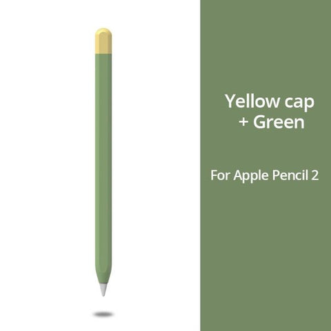 Apple Pencil 2 Case Green Apple Pencil Cover Stylus Protective Cover-CoolDesignOnline