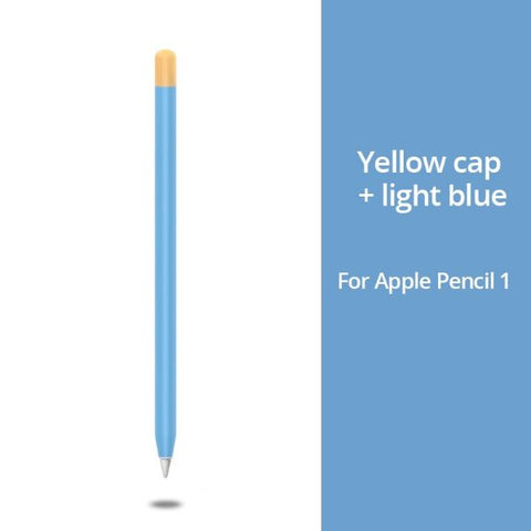 Apple Pencil 1 Case Blue Apple Pencil Cover Stylus Protective Cover-CoolDesignOnline