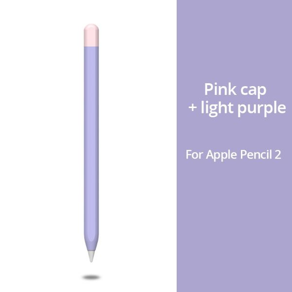 Apple Pencil 2 Case Purple Apple Pencil Cover Stylus Protective Cover-CoolDesignOnline
