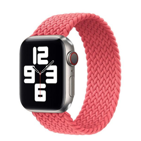 Apple Watch Band 44mm - 42mm Pink Nylon Braided Solo Loop-CoolDesignOnline