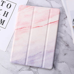 iPad 7th Generation Case Pink Marble Smart Cover-CoolDesignOnline