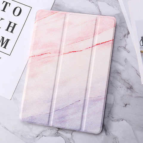 iPad Air 3rd Generation Case Pink Marble Smart Cover-CoolDesignOnline