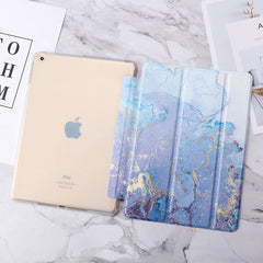 iPad mini 5 Case Pink Marble Smart Cover-CoolDesignOnline