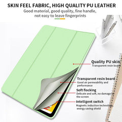 iPad Pro Case 11 2020 4th Generation Ultra Slim PU Green Leather Cover-CoolDesignOnline