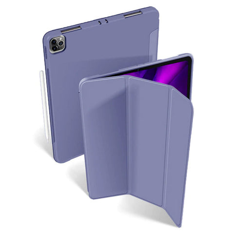 iPad Pro Case 11 2020 4th Generation Ultra Slim PU Lavender Leather Cover-CoolDesignOnline