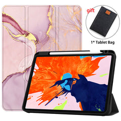 iPad Pro Case 2020 12.9 inch 4th Generation With Pencil Holder Leather Cover IPTPU17-CoolDesignOnline