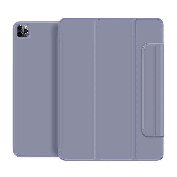 iPad Pro Case 2020 12.9 inch 4th Gen Pencil Holder Lavender Magnetic Cover-CoolDesignOnline