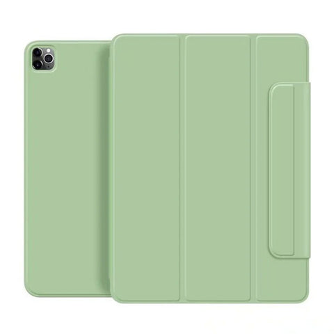 iPad Pro Case 2020 11 inch 4th Gen Pencil Holder Mint Green Magnetic Cover-CoolDesignOnline