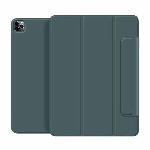 iPad Pro Case 2020 11 inch 4th Gen Pencil Holder Green Magnetic Cover-CoolDesignOnline