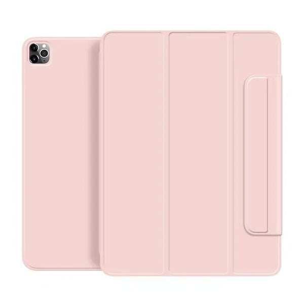 iPad Pro Case 2020 12.9 inch 4th Gen Pencil Holder Pink Magnetic Cover-CoolDesignOnline