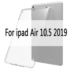 iPad Air 3 Case TPU Transparent Silicone Shockproof Cover-CoolDesignOnline