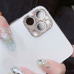 iPhone 11 Pro Max Camera Protector Case Rose Gold Glitter Len Cover-CoolDesignOnline